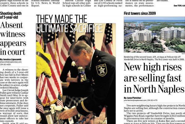 May 12 Naples Daily Front page