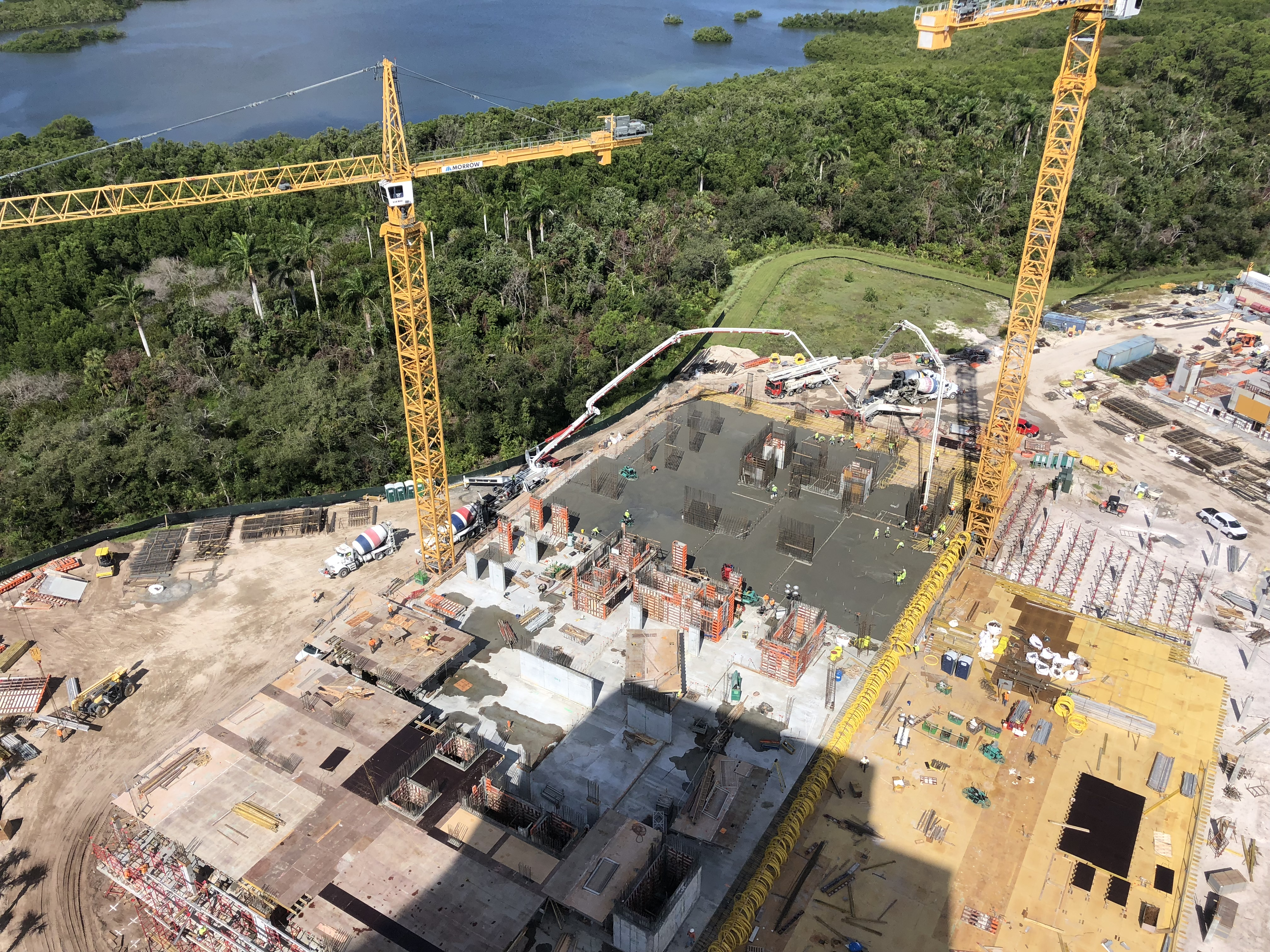 Aerial View of Construction 2