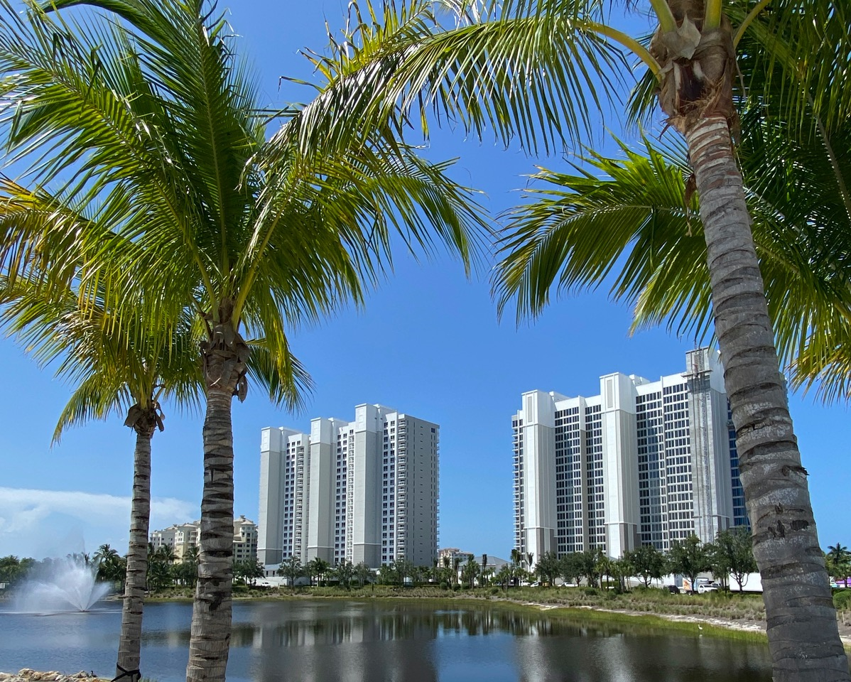 Photo of Kalea Bay Towers across Lake