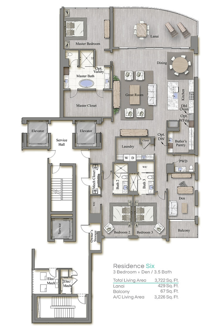 Tower 3 Floorplan Six