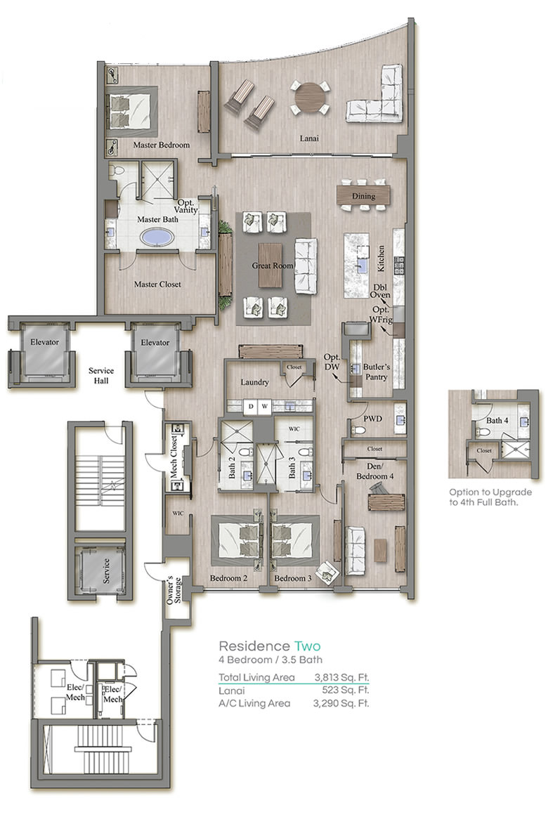 Tower 3 Floorplan Two